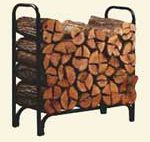 4 ft Deluxe Log Rack
