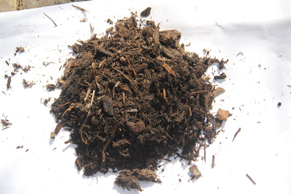 Bag Hardwood Mulch sample