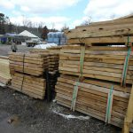 Split rail fence posts ends and gates