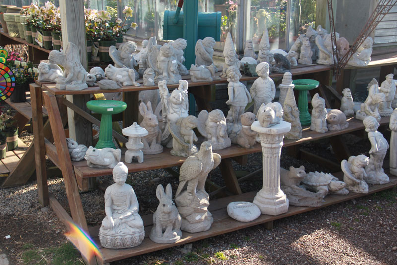 Cement garden statues nj garden ftempo for Garden state orthopedics fair lawn
