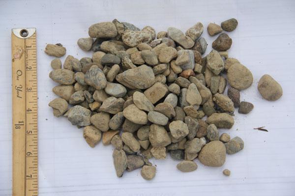 """3/4"""" River stone"""