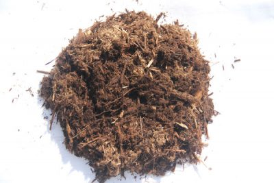 Bag Cedar Mulch sample
