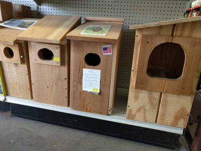 Large Bird Houses