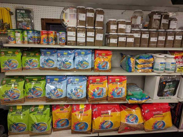 Pond Fish Food Bags