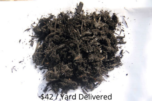 Black Dyed Hardwood Mulch