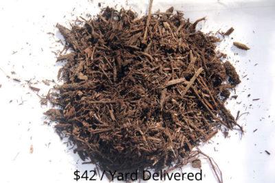 Bulk Brown Dyed Hardwood Mulch