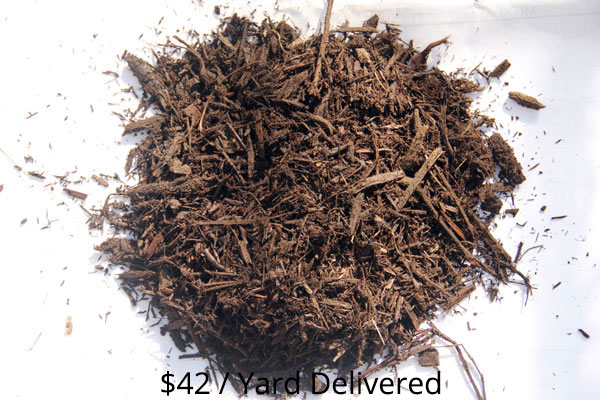 Bulk Brown Dyed Hardwood Mulch